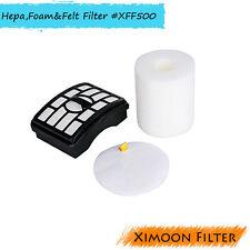 HEPA, Foam & Felt Filter for Shark NV500 NV501 NV502 NV503 NV550, #XFF500 XHF500