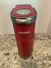 Keurig K-Mini Plus Single Serve K-Cup Pod Coffee Maker Cardinal Red PreOwned