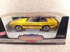 ERTL American Muscle 1:18 1969 Ford Mustang Shelby GT-500 Convertible Car