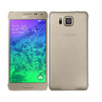 New Condition Samsung Galaxy Alpha SM-G850F - 32GB - Frosted Gold (Unlocked)