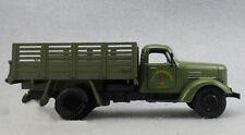 1:32 Army Green Jiefang military truck Diecast Truck Model W/ light sound 1/32
