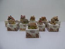 Lilliput Lane Victorian Houses Buildings Lot of 10