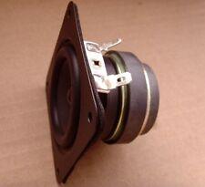 2pcs Dual magnet 2.5 inch full - range speakers/ audio speakers 4Ohm 6W for diy