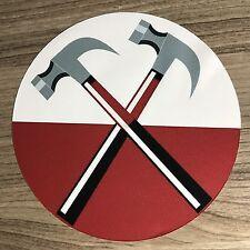 "Pink Floyd The Wall Hammers 4"" Vinyl Decal Sticker - BOGO"