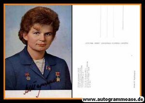 Autogramm Raumfahrt (UdSSR)   Valentina TERESCHKOWA   1960er (Portrait Color)