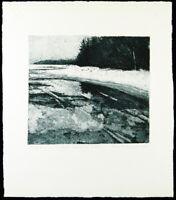 """April auf meiner Insel"", 1980. Kaija MUSTAKALLIO (*1924 FIN), handsigniert"