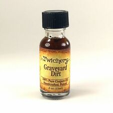 GRAVEYARD DIRT OIL, Hexes PROTECTION Witchcraft Dark Arts Voodoo Hoodoo Wicca