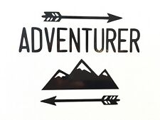 Adventurer Vinyl Decal Sticker