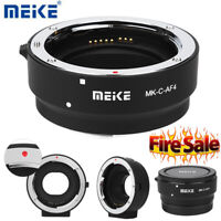 Camera Adapter Auto Focus Ring for Canon EOS-M Mount Cameras to EF EF-S Lens CO