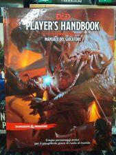 PLAYER'S HANDBOOK -  MANUALE DEL GIOCATORE - DUNGEONS & DRAGONS 5 ed. - ITA