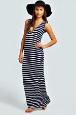 Jersey Striped Clothing Boohoo for Women