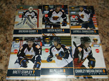 2015-16 LATRELL CHARLESON VERNON VIPERS BCHL SINGLE PLAYER CARD