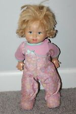 2008 Fisher Price Mattel Interactive Little Mommy Walk & Giggle Baby Doll Works