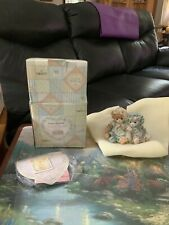 """1992 Enesco Calico Kittens """"You're Always There When I Need You� Cat Figurine"""