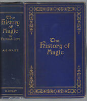 THE HISTORY OF MAGIC -BY ELIPHAS LEVI  1914