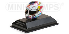 F1 Casque Helmet Arai Vettel Red Bull Singapore 2011 1/8 Minichamps