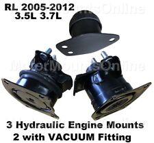 9R3520 3Hydraulic Engine Mounts fit Auto 3.5L 3.7L Motor 2005 - 2012 Acura Rl (Fits: Acura Rl)