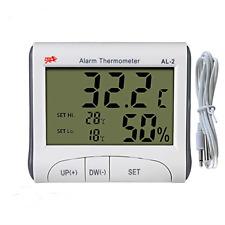 Digital Alarm Thermometer Aquarium Thermometer Digital Fish Tank Thermometer and