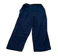 Ladies size 10 MATERNITY Navy Blaze Wide Pants over the belly Target NEW
