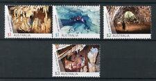 Australia 2017 estampillada sin montar o nunca montada Cuevas weebubbie cliefden Kubla Khan Cueva 4 V sellos de turismo