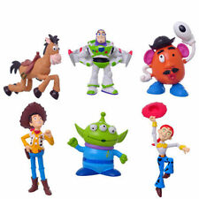 6pcs TOY STORY 3 BUZZ LIGHTYEAR WOODY JESSIE PVC Figures Toys Doll Set free New