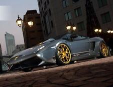 20x9 / 20x11 Concave Rohana RFX5  GLOSS GOLD Wheels For Lamborghini Gallardo