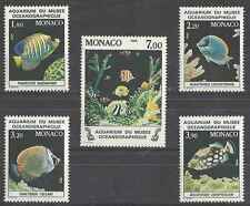 Timbres Poissons Monaco 1483/7 ** lot 18987