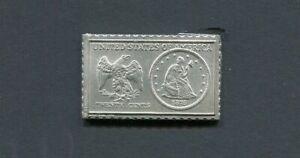 1875 United States Twenty Cent Piece Numistamp Medal 1979 Mort Reed