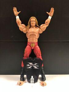 WWE Mattel Triple H Elite Series #86 Red Chase Variant Figure loose