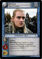 LOTR TCG Legolas Elven Comrade 4C74 The Two Towers Lord of the Rings MINT FOIL