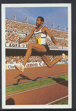 A Question of Sport 1986 Game Card - Willie Banks - Athletics (T547)
