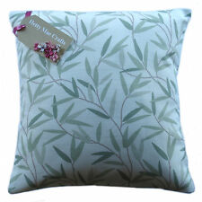 "Cushion Cover in Laura Ashley Willow Leaf Hedgerow Green Fabric - All Sizes 16""x16"" Same as Front"