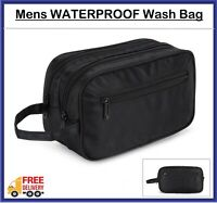 Men Wash Bag toilet bag extra large, Travel Toiletries  Cosmetics Bag Waterproof