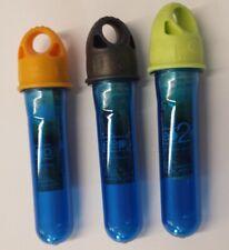 BlueDesert Keep2Go 3er Set Petling mit Verschluss für KArabiner Aufbewahrung Auf