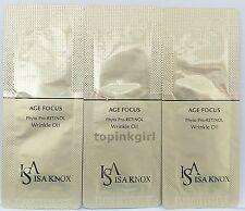 40pcs x Isa Knox Age Focus Phyto Pro Retinol Wrinkle Oil, New Premium Oil, Moist