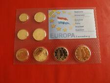 * Luxemburg Euro KMS  mit Gold Veredelt * (2002)(ALB 3)
