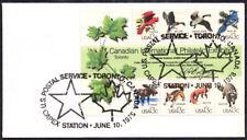 United States Toronto Capex 78 Wildlife Souvenir Sheet 1757 FDC