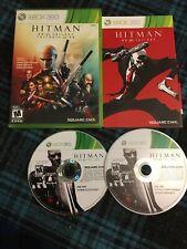Hitman HD Trilogy (Microsoft Xbox 360, 2013) Complete