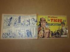 GLI ALBI DELL'INTREPIDO N°221 DEL 11-4-1950 LA TIGRE DEL BELUCISTAN