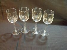 Set of (4) Northfield Mount Hermon School 50th Class Reunion Wine Glasses
