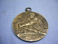 schöne alte Medaille Ruderclub Oderhort Hruschau 1922 Hrusov Tschechien (25)