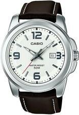 Reloj Casio Clásico Analógico MTP-1314PL -7 AVEF Correa de Cuero Genuino RRP £ 49.90