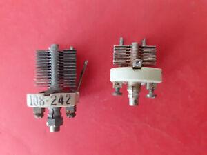 1 x 50pF & 1 x 110pF Air Dielectric Preset Variable Capacitor ~ JB / Hammarlund