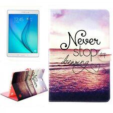 Estampado Diseño funda protectora bolsa ajustable para tableta cubierta carcasa Galaxy Tab a 10.1 T580 / T585 2016 Never Stop Dreaming Samsung