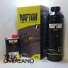 Raptor 750ml Urethane Black U-Pol Protective Paint 250ml Hardener DA6497 RLB/S1