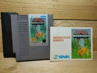 Ikari Warriors NES Video Game With Sleeve & Manual Tested SNK Shooter