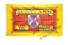 Scotland Scotland the Brave FLAG scots, scottish Banner 90x150cm - 5ftx3ft