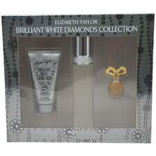 Elizabeth Taylor Brilliant White Diamonds Women Giftset (Eau De Toilette Spray,