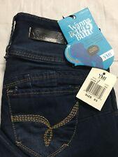 YMI Wanna Betta Butt Size 3 High Waist Triple Button Skinny Soft Ankle Jeans NWT