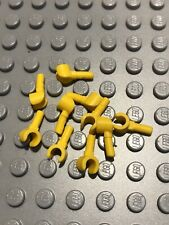 part no 983 Black /& Light Flesh Hands LEGO System Minifig Yellow